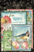 Bird Watcher Journaling Cards - Graphic 45 - PRE ORDER