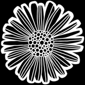 Felicia Daisy 12x12 Stencil - The Crafters Workshop