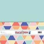 Peachy Keen Cardstock Pack - Fancy Pants