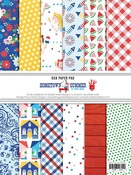 Hometown Summer 6x8 Paper Pad - Fancy Pants