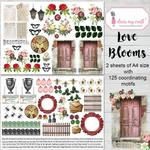 Love Blooms Image Sheet - Dress My Craft - PRE ORDER