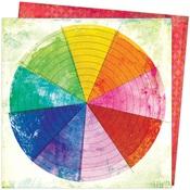 Color Wheel Paper - Color Study - Vicki Boutin