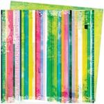 Linear Paper - Color Study - Vicki Boutin