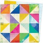 Abstract Paper - Color Study - Vicki Boutin