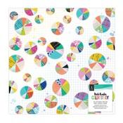 Color Study Vellum & Gold Foil Sheet - Vicki Boutin