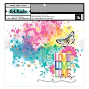 Color Study 12x12 Background Pad - Vicki Boutin - PRE ORDER