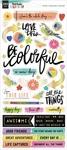 Color Study Holographic Foil Sticker Sheet - Vicki Boutin - PRE ORDER