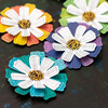 Color Study Layered Flowers - Vicki Boutin
