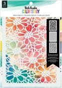 Fresh Stencil - Color Study - Vicki Boutin