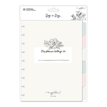 6 Month Extension Pack Note Pages - Day-to-Day - Maggie Holmes - PRE ORDER