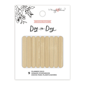 Wood Medium Planner Discs - Day-To-Day - Maggie Holmes - PRE ORDER