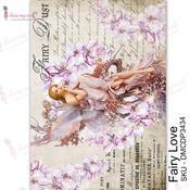 Fairy love Transfer Me Sheet A4 - Dress My Craft