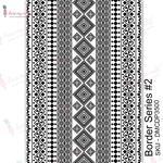 Border Series #2 Transfer Me Sheet A4 - Dress My Craft