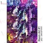 Resin Art #1 Transfer Me Sheet A4 - Dress My Craft