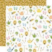 Garden Party Paper - Bunnies & Blooms - Simple Stories