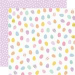 Egg Hunt Paper - Bunnies & Blooms - Simple Stories