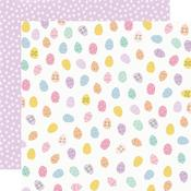 Egg Hunt Paper - Bunnies & Blooms - Simple Stories