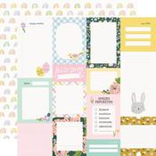 Elements 2x2 Paper - Bunnies & Blooms - Simple Stories