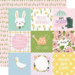 Elements 4x4 Paper - Bunnies & Blooms - Simple Stories
