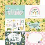 Elements 4x6 Paper - Bunnies & Blooms - Simple Stories