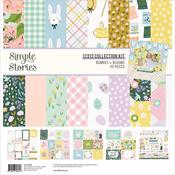 Bunnies & Blooms 12x12 Collection Kit - Simple Stories