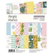 Bunnies & Blooms 6x8 Paper Pad - Simple Stories