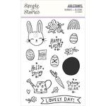 Photopolymer Clear Stamps - Bunnies & Blooms - Simple Stories