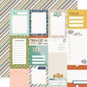 Journal Elements Paper - Safe Travels - Simple Stories - PRE ORDER