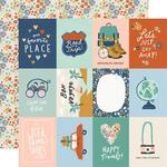 Elements 3x4 Paper - Safe Travels - Simple Stories - PRE ORDER