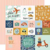 Elements 2x2 & 4x4 Paper - Safe Travels - Simple Stories