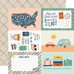 Elements 4x6 Paper - Safe Travels - Simple Stories - PRE ORDER