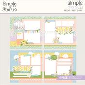 Happy Spring Page Kit - Bunnies & Blooms - Simple Stories