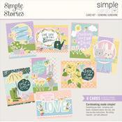 Sending Sunshine Cards Kit - Bunnies & Blooms - Simples Stories