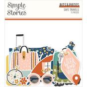 Safe Travels Bits & Pieces Die-Cuts - Simple Stories