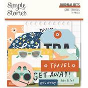 Safe Travels Journal Bits & Pieces Die-Cuts - Simple Stories