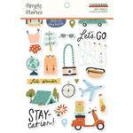 Safe Travels Sticker Book - Simple Stories - PRE ORDER