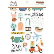 Safe Travels Sticker Book - Simple Stories