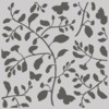 Branch & Butterfly Stencil - Simple Vintage Cottage Fields - Simple Stories