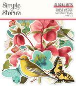 Simple Vintage Cottage Fields Floral Bits & Pieces - Simple Stories