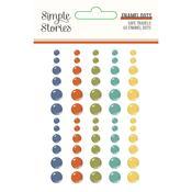 Safe Travels Enamel Dots - Simple Stories - PRE ORDER