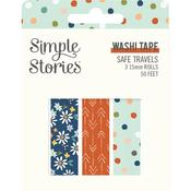 Safe Travels Washi Tape - Simple Stories - PRE ORDER
