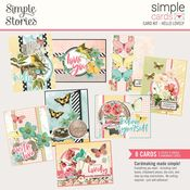 Hello Lovely - Simple Cards Card Kit - Simple Stories