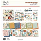 Safe Travels 12x12 Collector's Essential Kit - Simple Stories