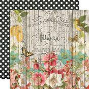 Natural Beauty Paper - Simple Vintage Cottage Fields - Simple Stories