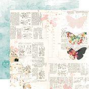 Sweet Life Paper - Simple Vintage Cottage Fields - Simple Stories