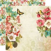 Beautiful Moments Paper - Simple Vintage Cottage Fields - Simple Stories