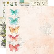 Hello Happy Paper - Simple Vintage Cottage Fields - Simple Stories