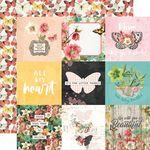 4x4 Elements Paper - Simple Vintage Cottage Fields - Simple Stories