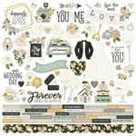 Happily Ever After Cardstock Sticker - Simple Stories