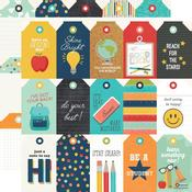 Tags Paper - School Life - Simple Stories - PRE ORDER